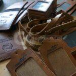 Pemesanan Id Card Holder Kulit Jakarta oleh Bank Mandiri